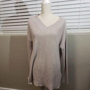 Ann Taylor beige sweater.